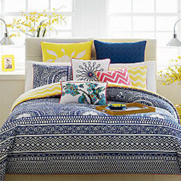 CYNTHIA Cynthia Rowley Lattice Reversible Bedding Collection - B
