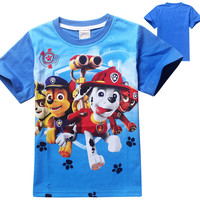 Paw Patrol Boys and Girls Tees Multiple Styles