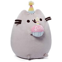 "Gund Pusheen 10.5"" Birthday Plush"