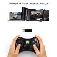 3 in 1 Bluetooth Wireless Controller For Sony PS3 For Xbox 360 Console 2.4GHz Game Joystick PC Controle For Computer Win7 Win8