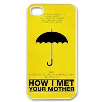 How I Met Your Mother for Iphone 4 4s Cover New Design Best Iphone 4 4s Case Show