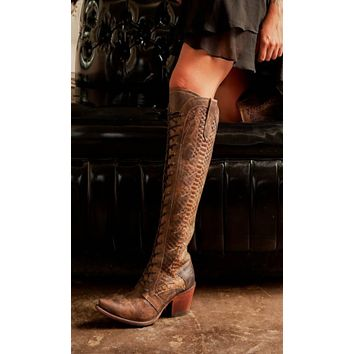 Junk Gypsy by Lane Trail Boss Tall Boot - Brown Belly*