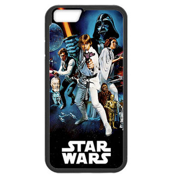 "Star Wars Movie Poster TPU+PC Case For Apple iPhone 6/6s (4.7"")"