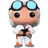 Funko Pop Movies: Back to The Future - Dr. Emmet Brown Vinyl Figure
