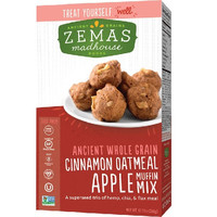 Zema`s Madhouse Foods Muffin Mix Cinnamon Oatmeal Apple -6x12.73 OZ-