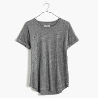 Whisper Cotton Crewneck Tee : shopmadewell AllProducts | Madewell