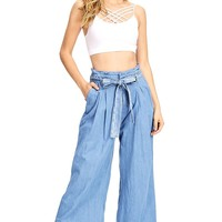 Westport Chambray Culottes