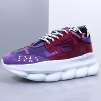 Versace Leisure heavy-soled lace sneakers