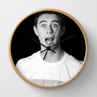 Nash Grier Wall Clock by fangirl123