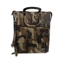Prada Camo Satchel/Laptop Bag