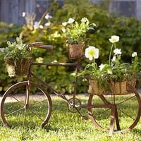 Bicycle Planter | Pottery Barn