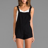Finders Keepers Shuffle a Dream Playsuit in Black from REVOLVEclothing.com