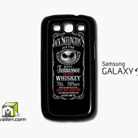 Jack Skellington Whiskey Daniels Samsung Galaxy S3 Case Cover by Avallen