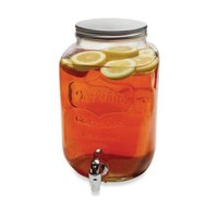 Yorkshire 2-Gallon Mason Jar Beverage Dispenser