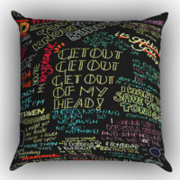 one direction song Zippered Pillows  Covers 16x16, 18x18, 20x20 Inches