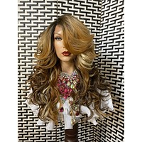 """NORESSE* ombré' honey blonde