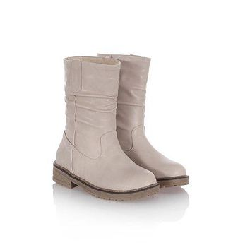 Women's Soft Leather Short Boots