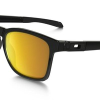 Oakley Sunglasses - Catalyst - Polished Black, 24k Iridium Lens OO9272-04