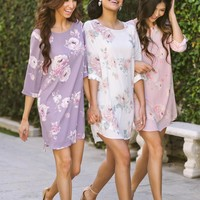 Georgina Floral Shift Dress