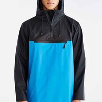 RAINS Colorblocked Anorak Jacket- Blue