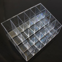 Hot 24 For Makeup Lipstick Cosmetic Storage Display Holder Showcase 4C