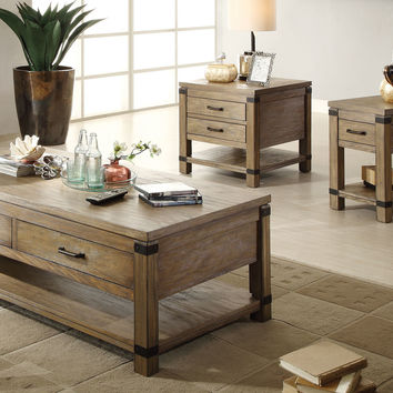 Riverside Furniture Bay Cliff Coffee Table Set