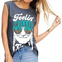 Feelin' Willie Good Graphic Top