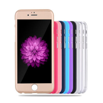 Neo Hybrid Hard PC 360 Degrees Full Protect Case Cover For iPhone 7 7 Plus 5 5S SE 6 6S 6 6S Plus Free Gift Tempered Glass Screen Protector+ Free Gift Box