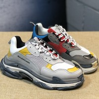 Trendsetter  Balenciaga Tripe-S  Women Men Distressed Retro Dad Shoes
