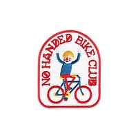 No Handed Bike Club Patch