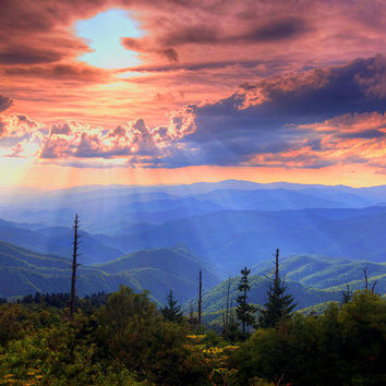 Great Smoky Mountains  Photograph by Doug McPherson - Great Smoky Mountains  Fine Art Prints and Posters for Sale