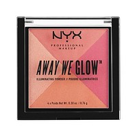 NYX Away We Glow Illuminating Powder - Crushed Rose - #AWGIP04