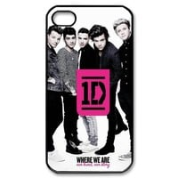 Customize One Direction Zayn Malik Liam Payn Niall Horan Louis Tomlinson Harry Styles Case for iphone4 4S JN4S-1758