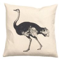 H&M Cushion Cover with Bird Motif $9.99