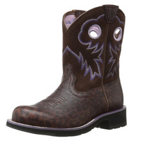 Ariat Fatbaby Subtle Lepoard Print Boots