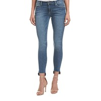 Coco Step Hem Released Ankle Jeans