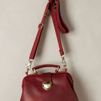 Andrea Satchel by Jesslyn Blake Wine One Size Bags