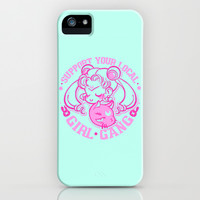 Support Your Local Girl Gang iPhone & iPod Case by LookHUMAN