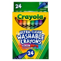 Crayola® UltraClean Crayons Washable 24ct