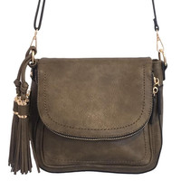 Well Traveled Handbag In Olive