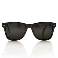Black Out Wayfarer Sunglasses