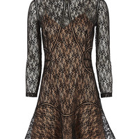 Alexander Wang Studded Hem Lace Mini Dress - INTERMIX®