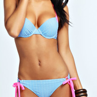 Africa Contrast Trim Enhance Bikini
