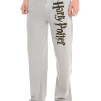 Harry Potter Logo Men's Pajama Pants