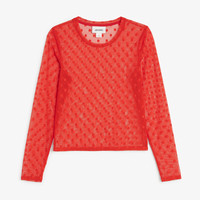 Monki | View all clothing | Mesh top
