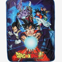 Dragon Ball Super Group Sublimation Throw Blanket