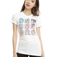 Sailor Moon Sailor Scouts Girls T-Shirt