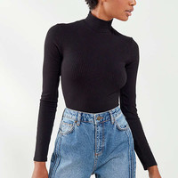 Out From Under Ribbed Turtleneck Bodysuit | Urban Outfitters
