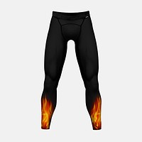 Black Fire Tights for men