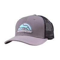 Paddler Trucker Hat in Charcoal by Waters Bluff